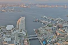 Outlook from Yokohama Landmark Tower Royalty Free Stock Photos