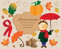 outono ajustado da sucata Fotos de Stock Royalty Free