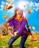 Outono ativo 02 Imagens de Stock Royalty Free