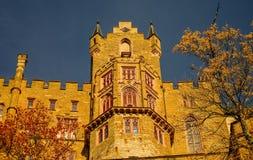 Outono bonito no castelo de Hohenzollern e ao redor, Alemanha Fotografia de Stock
