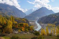 outono colorido em do norte Imagem de Stock Royalty Free