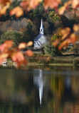 Outono colorido em Nova Inglaterra Fotografia de Stock