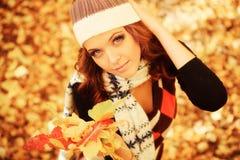 Outono da forma Imagens de Stock Royalty Free