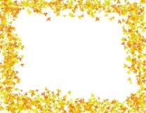 outono da foto do projeto do quadro do teste padrão Foto de Stock Royalty Free