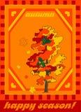 Outono da ilustração do vetor Foto de Stock Royalty Free