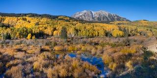 outono da passagem de Kebler fotografia de stock royalty free