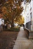 outono da tranquilidade do gramado da passagem dos túmulos Fotografia de Stock Royalty Free