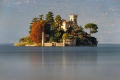 outono de Isola di Loreto Fotografia de Stock