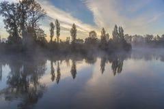 outono de Snohomish Foto de Stock