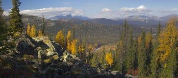 outono de Ural Imagem de Stock Royalty Free