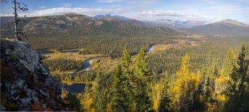 outono de Ural Fotografia de Stock Royalty Free