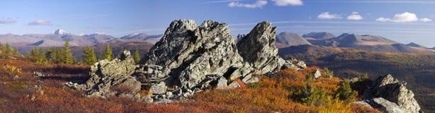 outono de Ural foto de stock
