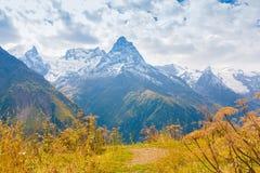 outono do dia da montanha Foto de Stock Royalty Free