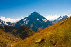 outono do dia da montanha Fotografia de Stock