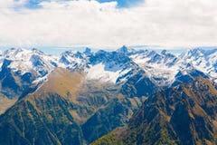outono do dia da montanha Fotos de Stock Royalty Free