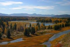 Outono do rio de serpente Fotografia de Stock