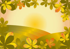 Outono dourado Imagens de Stock Royalty Free