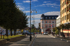 Outono dourado polonês Fotos de Stock Royalty Free
