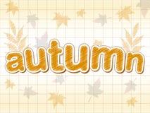 Outono e folhas ilustração royalty free