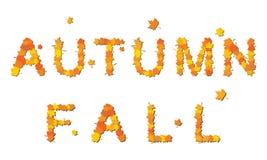 outono e queda Ilustração Royalty Free