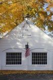 outono em Essex, Connecticut fotografia de stock