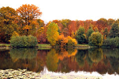 Outono em France Foto de Stock Royalty Free