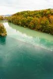 outono em Genebra Imagem de Stock Royalty Free