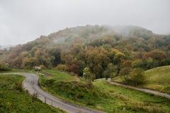 outono em Lessinia Fotografia de Stock Royalty Free