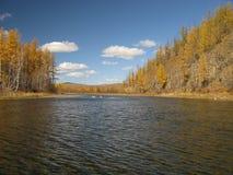 Outono em Mongolia Imagem de Stock Royalty Free