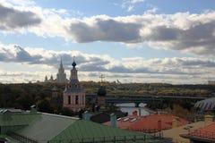 Outono em Moscovo Imagem de Stock Royalty Free
