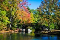 Outono em Nova Inglaterra Imagens de Stock Royalty Free