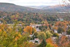 Outono em Oneonta, New York Foto de Stock Royalty Free