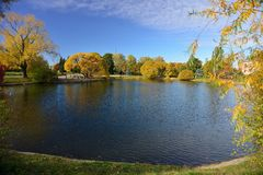 outono em outubro fotos de stock royalty free