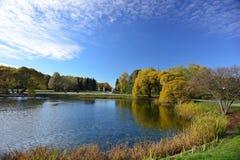 outono em outubro fotos de stock