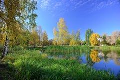 outono em outubro fotografia de stock royalty free