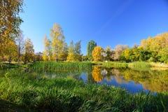 outono em outubro imagem de stock