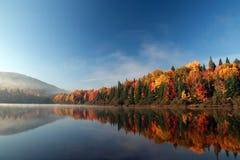 outono em Quebeque Foto de Stock