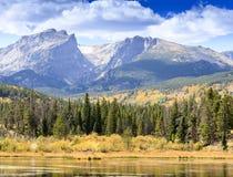 outono em Rocky Mountain National Park fotos de stock