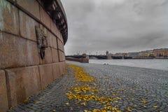 Outono em St Petersburg Imagem de Stock Royalty Free