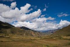 Outono em Tibet Fotografia de Stock