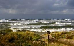 Outono em um mar Báltico Imagem de Stock