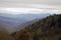 Outono, grande Mtns fumarento NP Imagens de Stock