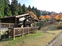 outono incrível em Ikeda, Japão Foto de Stock Royalty Free