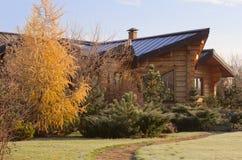 Outono na casa de campo Fotos de Stock