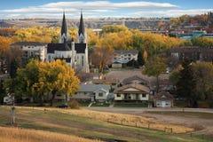 Outono na cidade Foto de Stock