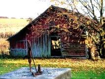 Outono na exploração agrícola fotos de stock