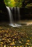 outono na garganta de LaSalle Fotografia de Stock Royalty Free