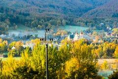 Outono nas montanhas Fotografia de Stock Royalty Free