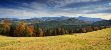 Outono nas montanhas Foto de Stock