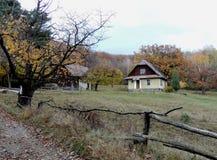 Outono nas montanhas Carpathian imagens de stock
